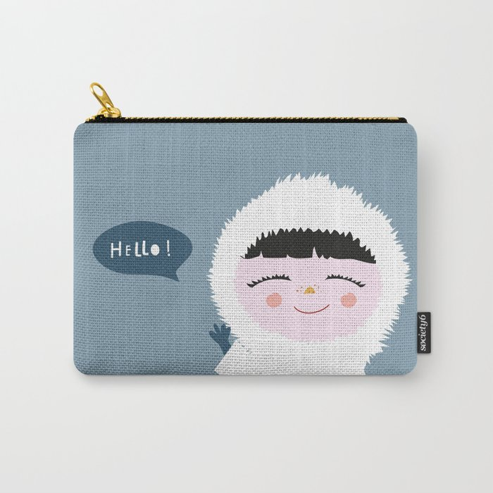 Cute little Eskimo Carry-All Pouch