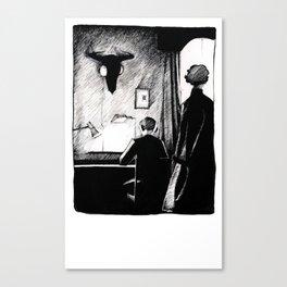 A 221B Scene Canvas Print