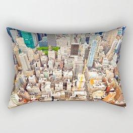 New York Buildings Rectangular Pillow