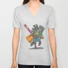 Dungeons & Dragons & DOOM Unisex V-Neck