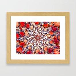 Medusa Curls Framed Art Print