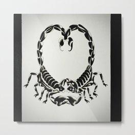 scorpions love Metal Print