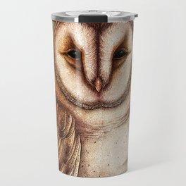 Spring Barn Owl Travel Mug
