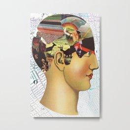 Mind Map Metal Print
