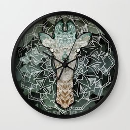 The Giraffe. Wall Clock