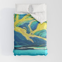 Franklin Carmichael - Lone Lake - Digital Remastered Edition Comforters