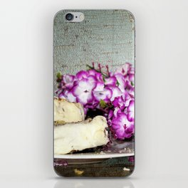 Coffee and Cake Still Life iPhone Skin