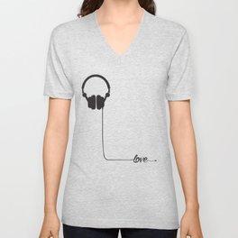 For the love of music 2.0 Unisex V-Neck