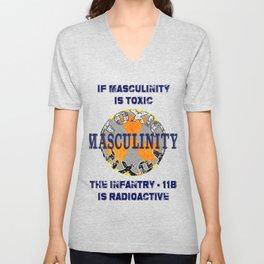 Toxic Masculinity Unisex V-Neck