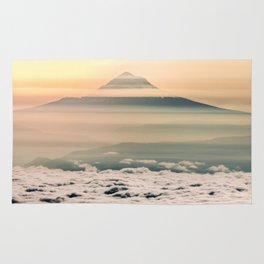 The West is Burning - Mt Hood Rug