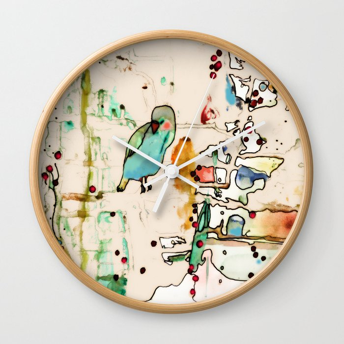 palm spring Wall Clock