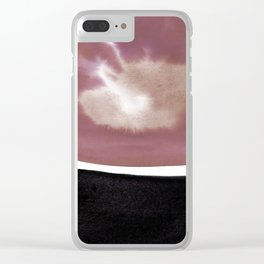 Introspection 2J by Kathy Morton Stanion Clear iPhone Case