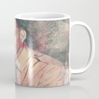 frank sinatra Mugs featuring Frank Sinatra by Nechifor Ionut