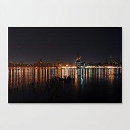 Water Lights Canvas Print
