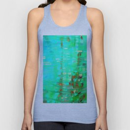 Abstraction of color game Unisex Tank Top