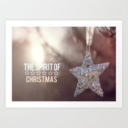The Spirit of Christmas  Art Print