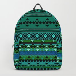 Aztec Greens Backpack