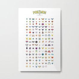 Gotta Catch Em' All! Metal Print
