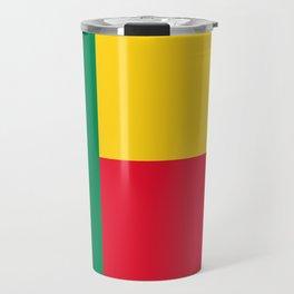 Benin Flag Travel Mug