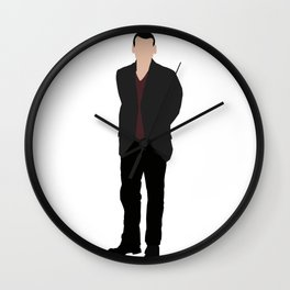 Ninth Doctor: Christopher Eccleston Wall Clock