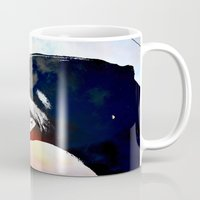 caleb troy Mugs featuring Troy by Jake Stanton