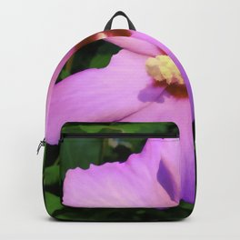 Rose OF Sharon In Mid Summer Backpack