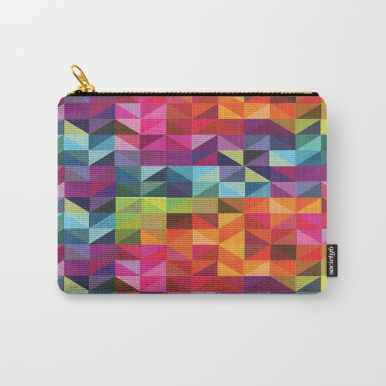 Geometric World No. 2 Carry-All Pouch