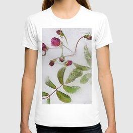 Frozen roses T-shirt