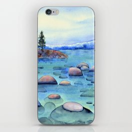 The Rocks of Tahoe iPhone Skin