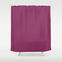 Ruby Mandalas Shower Curtain