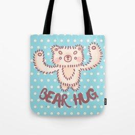 Fluffly Bear Tote Bag