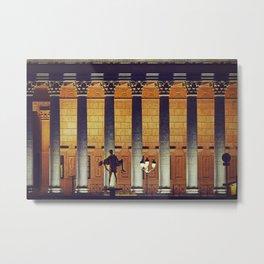 Palais de Justice de Lyon - Night scene - Fine Art Travel Photography Metal Print