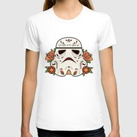 mexican T-shirts featuring Mexican Sugartrooper by Sophia Fredriksson Illustration