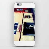 cinema iPhone & iPod Skins featuring Cinema Roma by Red Bicycle - Amber Elen-Forbat