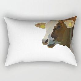 Hilarious Cow Rectangular Pillow
