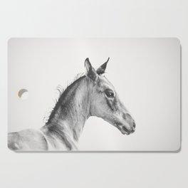 Precocious Foal Cutting Board