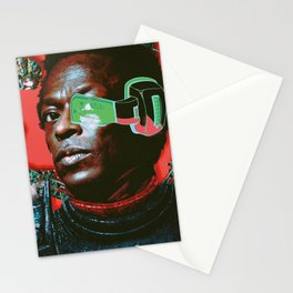 Miles on Namek Stationery Cards