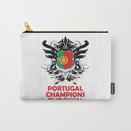 Portugal Champions Uefa Euro 2016 Carry-All Pouch
