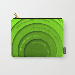 Running in circles Carry-All Pouch