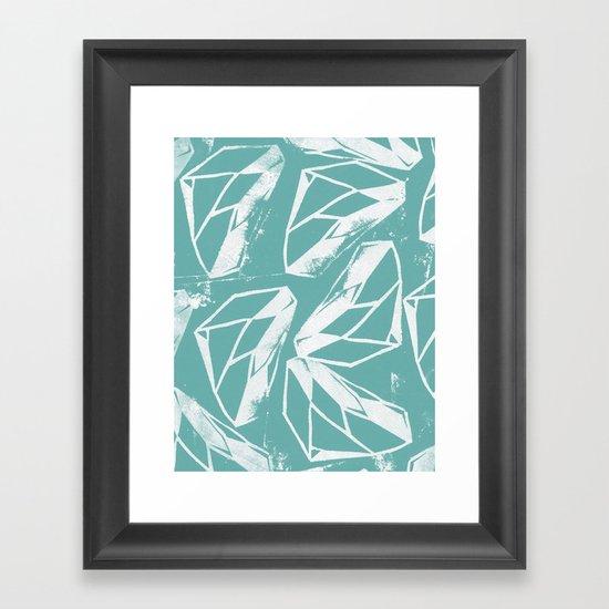 Geometric Pattern 2 Framed Art Print