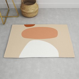 Abstract Shape Series - Stacking Stones Rug
