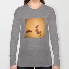 The Thistle And The Bee Long Sleeve T-shirt
