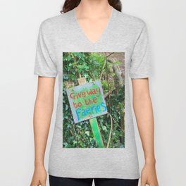 Give Away To The Fairies Unisex V-Neck