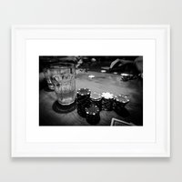 poker Framed Art Prints featuring Poker Time by Eduard Leasa Photography
