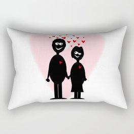 Valentine Lovers Rectangular Pillow