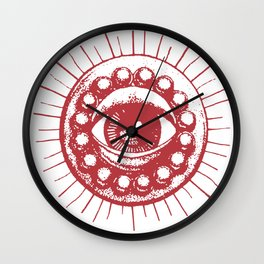 Red Eye of Agamotto Wall Clock