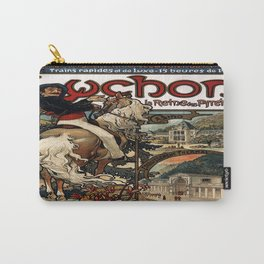 Vintage poster - Luchon Carry-All Pouch