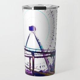 Ferris Wheel of Lights Travel Mug