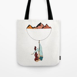 Just Let Go Tote Bag