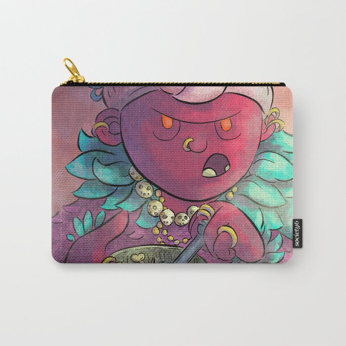 Voodoo Queen Carry-All Pouch
